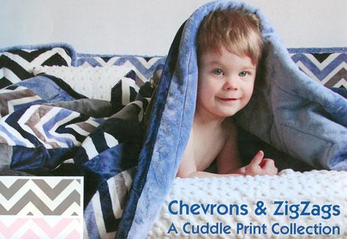 Chevron Cuddle ZigZag Cuddle