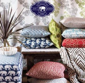 John Robshaw Fabrics from Duralee