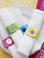 Fabric Napkin Rings
