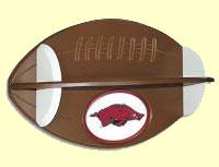 Arkansas Football Shelf