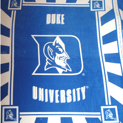 Foust Textiles Inc Duke University Fleece Panel  Search Results