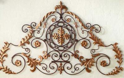 Dr  Livingstone Palace Wall Grille Rustic Brown with Antique Gold Search Results