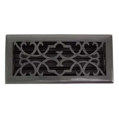 Brass Elegans Victorian Dark Bronze Floor Register - 2 1/4x12  Search Results