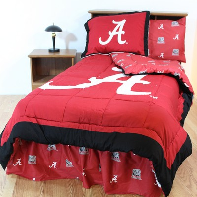 College Covers Alabama Crimson Tide Bed-in-a-Bag Set  Search Results