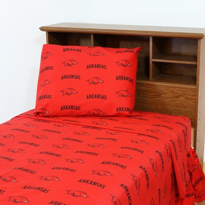 College Covers Arkansas Razorbacks Sheet Set - Red  Search Results