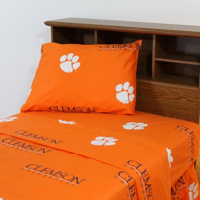 College Covers Clemson Tigers Sheet Set - Orange  Search Results