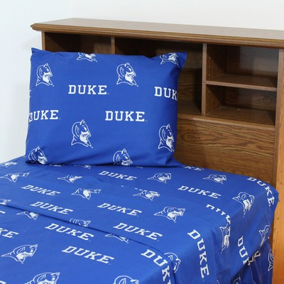 College Covers Duke Blue Devils Sheet Set - Blue  Search Results