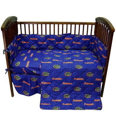 College Covers Florida Gators Crib Bedding Set  College Baby Bedding
