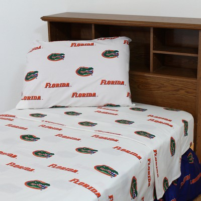 College Covers Florida Gators Sheet Set - White  Search Results