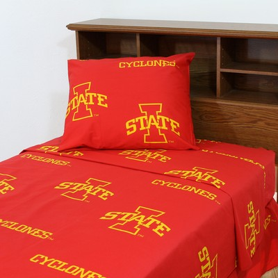 College Covers Iowa State Cyclones Sheet Set - Red  Search Results