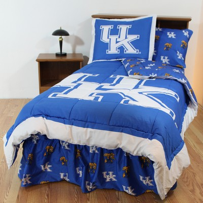 College Covers Kentucky Wildcats Bed-in-a-Bag Set  Search Results
