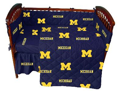College Covers Michigan Wolverines Crib Bedding Set  Search Results