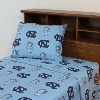 College Covers North Carolina Tar Heels Sheet Set - Blue  Search Results