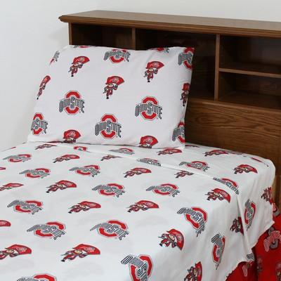 College Covers Ohio State Buckeyes Sheet Set - White  Search Results