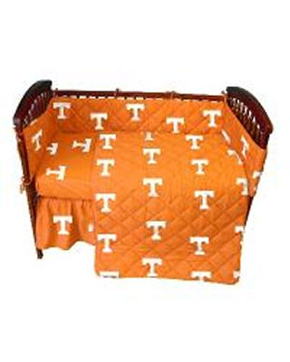 College Covers Tennessee Volunteers Crib Bedding Set  College Baby Bedding