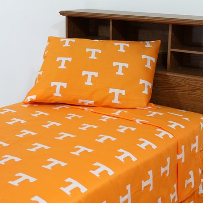 College Covers Tennessee Volunteers Sheet Set - Orange  Search Results