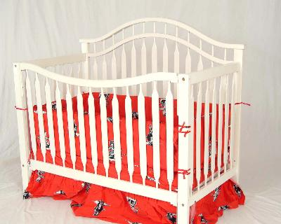 College Covers Texas Tech Red Raiders Crib Bedding Set  Search Results