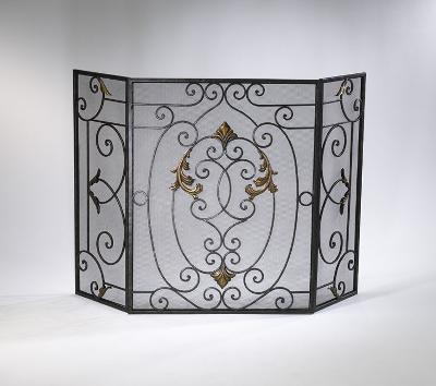 Cyan Design French Fire Screen Rust with Gold Accents Search Results