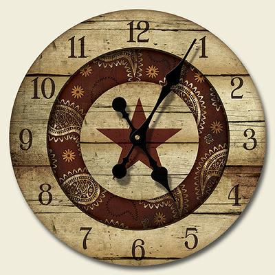 Highland Graphics Western Rodeo Wood Wall Clock  Search Results
