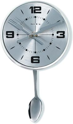 Kirch & Co Stainless Spoon Pendulum Wall Clock  Search Results