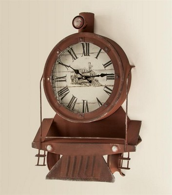 Manual Woodworkers and Weavers  Inc Locomotive Wall Clock  Search Results
