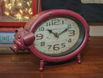 Manual Woodworkers and Weavers  Inc Pig Table Clock  Search Results