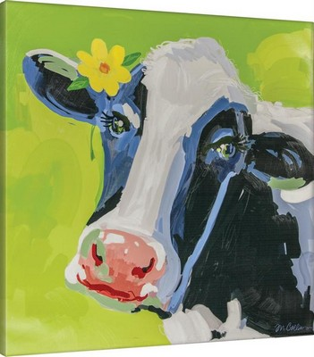 Manual Woodworkers and Weavers  Inc Bossy The Cow Canvas Art  Search Results