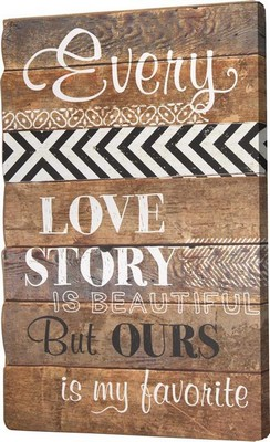 Manual Woodworkers and Weavers  Inc Love Story Wood Sign Set  Search Results