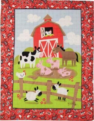 Manual Woodworkers and Weavers  Inc Farmtasia Boy Blanket  Search Results