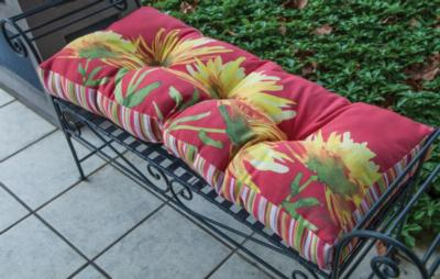 Manual Woodworkers and Weavers  Inc Yellow Blooming Bench Cushion  Search Results