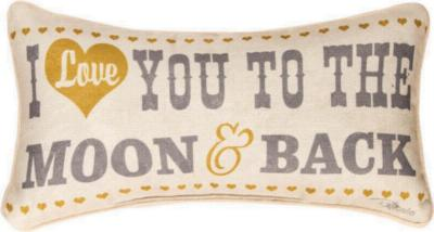 Manual Woodworkers and Weavers  Inc Love You to the Moon and Back Pillow  Search Results