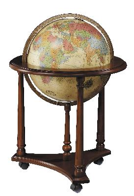 Replogle Globes Lafayette Antique Illuminated Floor Globe  Search Results