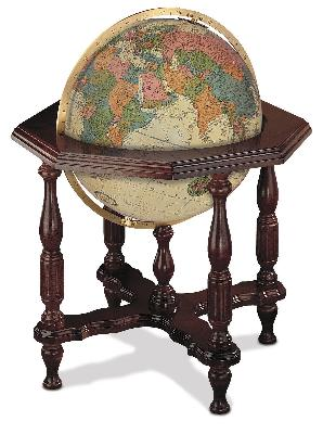 Replogle Globes Statesman Antique Illuminated Floor Globe  Search Results
