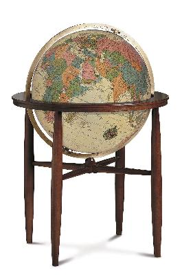 Replogle Globes Finley Antique Illuminated Floor Globe  Search Results
