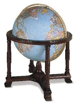 Replogle Globes Diplomat Blue Illuminated Floor Globe  Search Results