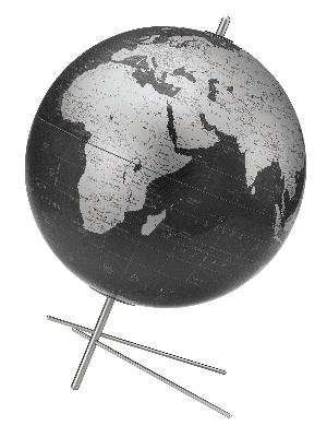 Replogle Globes Mikado Slate Gray Table Globe  Search Results