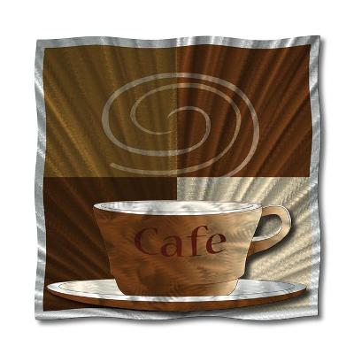 All My Walls Cafe Au Lait Brown, Silver Search Results
