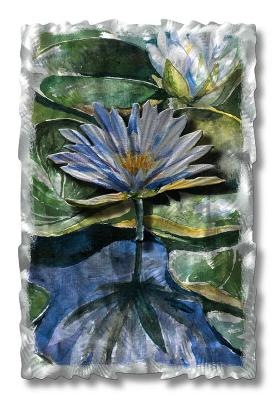 All My Walls Water Lilies Green, Blue, Purple, Gold, Silver Search Results