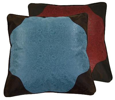 HomeMax Imports Cheyenne Euro Sham - Reversible Turquoise/Red Search Results