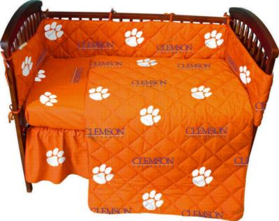 College Covers Clemson Tigers Crib Bedding Set  Search Results