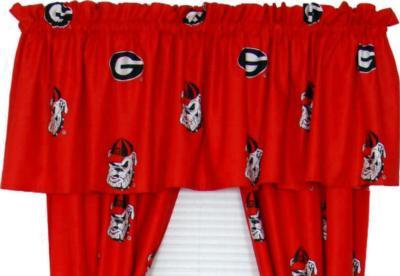 College Covers Georgia Bulldogs Valance  Search Results