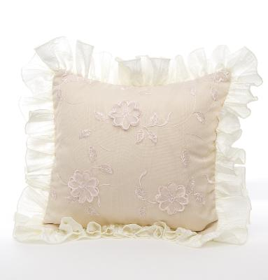 Glenna Jean Ava Floral Overlay with Ruffle Pillow  Search Results