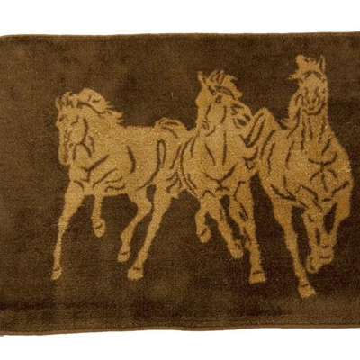 HomeMax Imports Running Horse Bathroom Rug Dark Chocolate Search Results