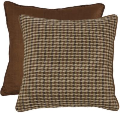 HomeMax Imports Crestwood Houndstooth Euro Sham Brown Search Results