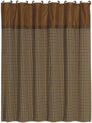 HomeMax Imports Crestwood Houndstooth Shower Curtain Brown Search Results