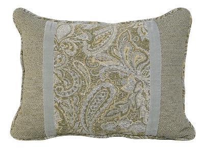 HomeMax Imports Arlington Paisley Pillow  Traditional Pillows
