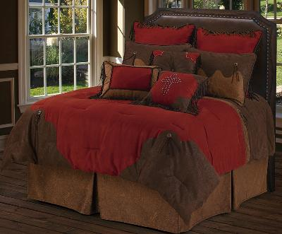 HomeMax Imports Red Rodeo Comforter Set  Search Results