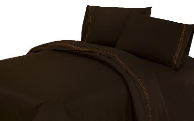 HomeMax Imports 350TC Embroidered Barbwire Bed Sheet Set (4PC) - Queen  Search Results