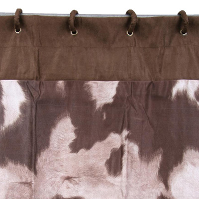 HomeMax Imports Cowhide Shower Curtain Set Search Results