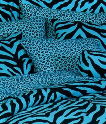 Kimlor Blue Zebra Print Bolster Pillow  Search Results